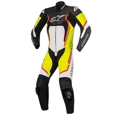 Alpinestars Motegi v2 レザー ワンピース スーツ (46) (Black/ホワイト/イエロー/Red)(海外取寄せ品)