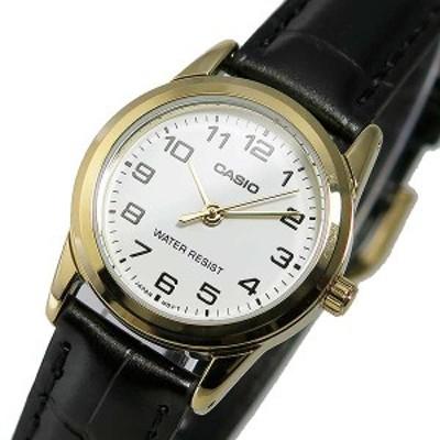 腕時計 レディース カシオ CASIO クオーツ LTP-V001GL-7B ホワイト ホワイト(チープカシオ チプカシ Cheap Casio チープ カシオ)