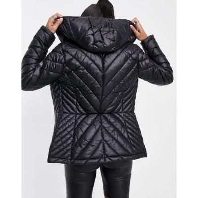 ダナ キャラン ニューヨーク レディース ジャケット&ブルゾン アウター DKNY Packable Jacket in Black Black