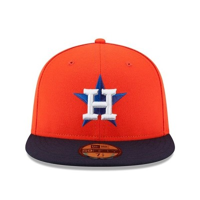 ニューエラ 59FIFTY FITTED ヒューストン アストロズ 【ON-FIELD PERFORMANCE ALTERNATE/ORG-NAVY】 NEW ERA HOUSTON ASTROS