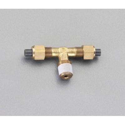 エスコ(ESCO) R1/8x6x6mm ユニオン(ティー/黄銅製) EA425LD-61