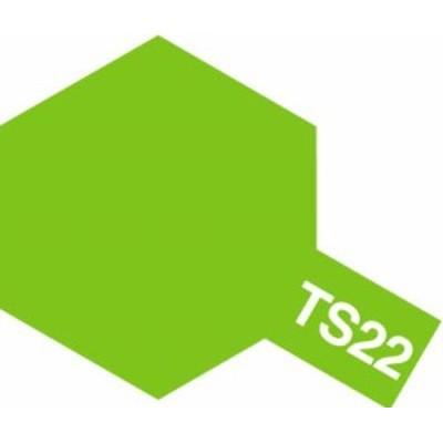TAMIYA 【塗料】スプレーカラー TS-22 ライトグリーン