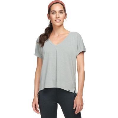 バックカントリー Backcountry レディース Tシャツ トップス aspen travel t - shirt Neutral Gray Heather