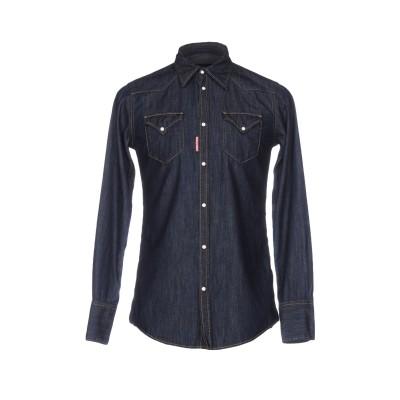 ディースクエアード DSQUARED2 デニムシャツ ブルー 44 コットン 100% デニムシャツ