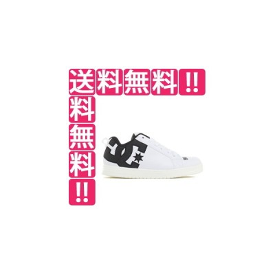DC SHOES  COURT GRAFFIK LITE [サイズ:26.5cm (US8.5)] [カラー:WBK] DM211601WBK