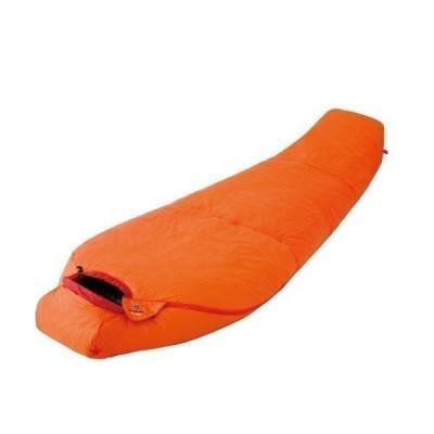 ファイントラック finetrack 寝袋 ポリゴンネスト オレンジ キャンプ シュラフ