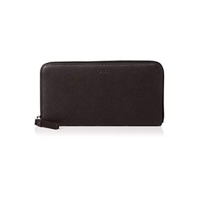 [イザック] 長財布(ラウンドファスナー) Y01-12-03 ブラック