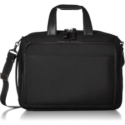 [エースジーン] ビジネスバッグ EVL3.0 40cm A4 2気室 PC・タブレット収納 セットアップ エキスパンダブル ブラック