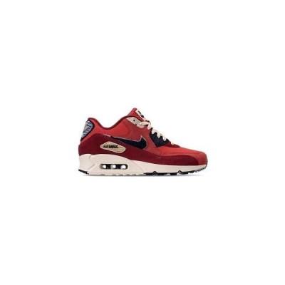 ナイキ メンズ スニーカー Nike Air Max 90 Premium SE エアマックス90 University Red/Provence Purple/Black