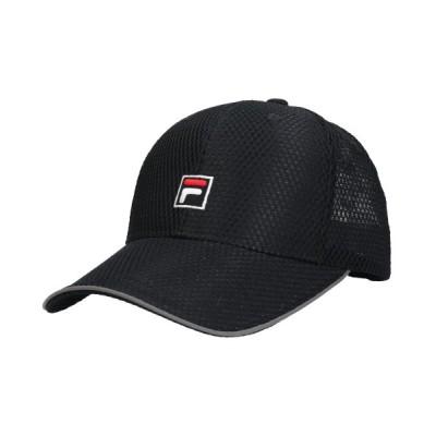 【オーバーライド】 FILA ADLM CAP ユニセックス ブラック 57cm~59cm OVERRIDE