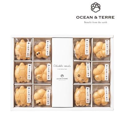 【送料無料】お茶漬け最中 12点セット(OCEAN&TERRE)