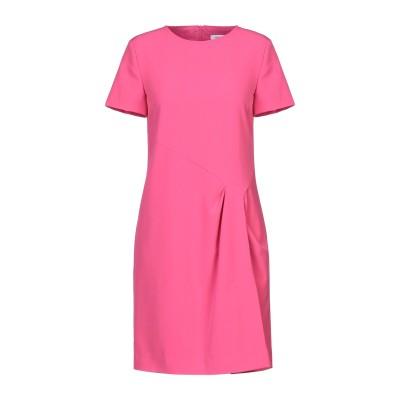 ANNA RACHELE ミニワンピース&ドレス フューシャ 40 ポリエステル 95% / ポリウレタン 5% ミニワンピース&ドレス
