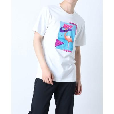 ナイキ NIKE メンズ 半袖Tシャツ ナイキ NSW ビーチ フラミンゴ S/S Tシャツ DD1283-100 (ホワイト)