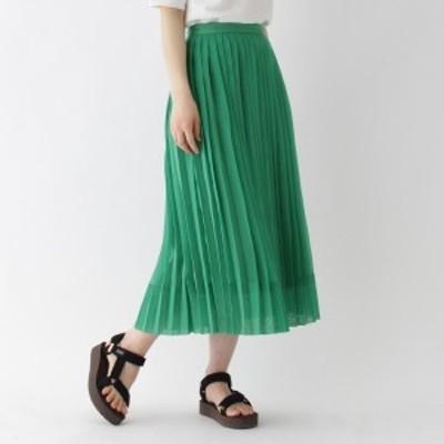 ドレステリア(レディス)(DRESSTERIOR Ladies)/【STORY5月号掲載】オーガンジーサイドプリーツスカート