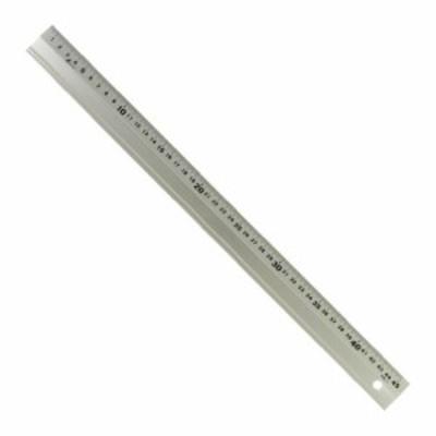 シンワ測定(Shinwa Sokutei) アルミ直尺 アル助 シャンパンゴールド 45cm 65425