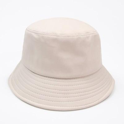 シンプルクラシックシンプル ハット 女 バケットハット 日よけ帽子 mm38