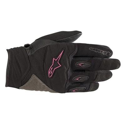 ステラ ショア レディース Motorcycle Glove (Small, ブラック Fuchsia)(海外取寄せ品)