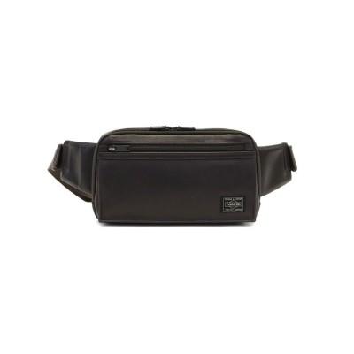 (PORTER/ポーター)吉田カバン ポーター ウエストバッグ PORTER ボディバッグ  AMAZE アメイズ WAIST BAG日本製 022-03796/ユニセックス ブラウン