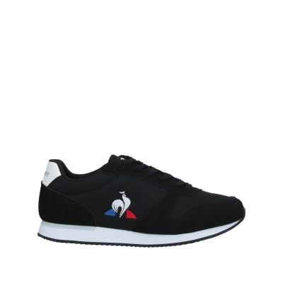 ルコックスポルティフ LE COQ SPORTIF スニーカー&テニスシューズ(ローカット) ブラック 39 紡績繊維 スニーカー&テニスシューズ(