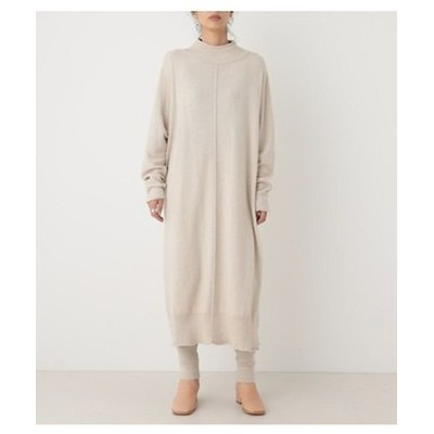 (BLACK BY MOUSSY/ブラックバイマウジー)dolman knit dress/レディース IVOY