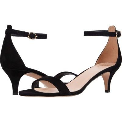 ジェイクルー J.Crew レディース サンダル・ミュール キトゥンヒール シューズ・靴 Basic Kitten Heel Sandal Black Suede