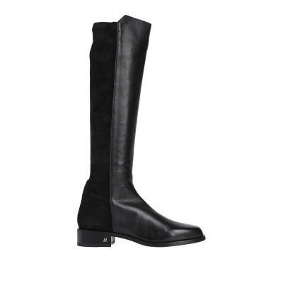 BALLY ブーツ ブラック 36 牛革(カーフ) ブーツ