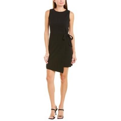 ティアナビー レディース ワンピース トップス Tiana B Textured Mini Dress black
