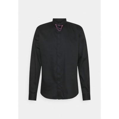 ツイステッドテイラー シャツ メンズ トップス LYNTON - Formal shirt - black