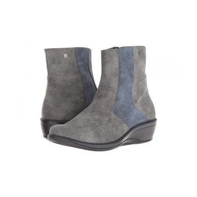 Arcopedico アルコペディコ レディース 女性用 シューズ 靴 ブーツ アンクル ショートブーツ L100 - Stone/Navy
