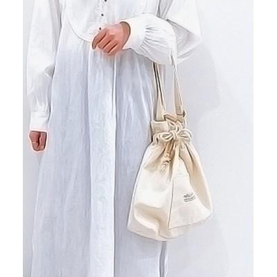 ehka sopo / キャンバス巾着ショルダー WOMEN バッグ > ショルダーバッグ