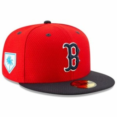 New Era ニュー エラ スポーツ用品  New Era Boston Red Sox Red/Navy 2019 Spring Training 59FIFTY Fitted Hat