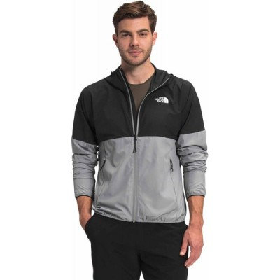 ザ ノースフェイス The North Face メンズ ジャケット アウター Flyweight Hoodie Jacket Meld Grey/TNF Black