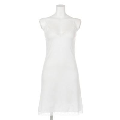 【BED&BREAKFAST】RIB STITCH Lace Camisole Dress