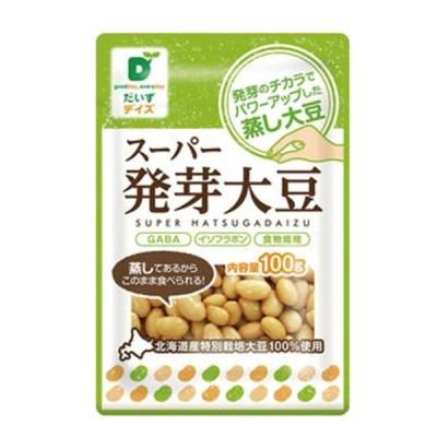 1006442-kfmsos スーパー発芽大豆 100g【だいずデイズ】【1〜6個はメール便対応可】