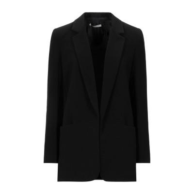 BIANCOGHIACCIO テーラードジャケット ブラック 46 ポリエステル 96% / ポリウレタン 4% テーラードジャケット