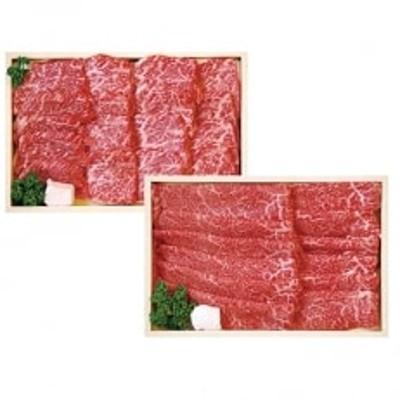 宮城県産仙台牛焼肉すき焼きセット B