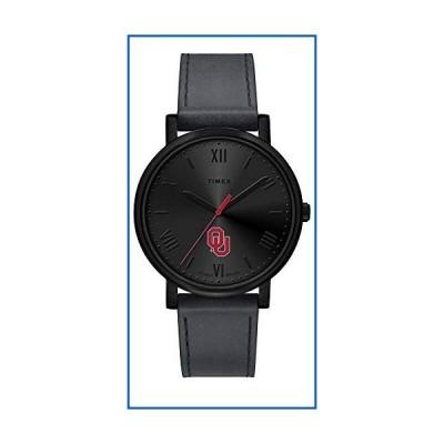 <新品>Timex Ladies University of Oklahoma Sooners Watch Black Night Game Watch<並行輸入品>