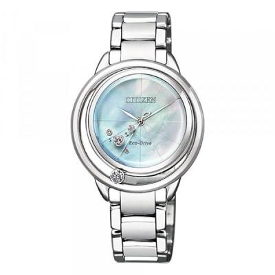シチズン その他 エル EW5521-81D レディース 新品 腕時計 ホワイト文字盤