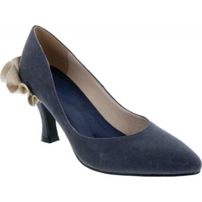 ベリーニ Bellini レディース パンプス シューズ・靴 Clarise Pointed Toe Pump Navy Microsuede