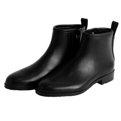DM102 ショートレインブーツ/レインブーツ/ラバーブーツ/長靴/メンズ/ショートブーツ/ビジネスシューズ