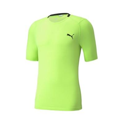 【プーマ】 トレーニング EVOニット 半袖 Tシャツ メンズ GREENGLARE L PUMA