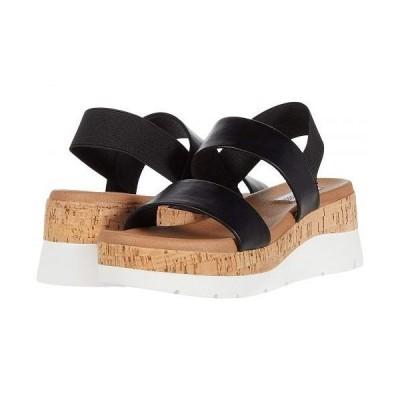 Steve Madden スティーブマデン レディース 女性用 シューズ 靴 ヒール Relaxed Wedge Sandal - Black