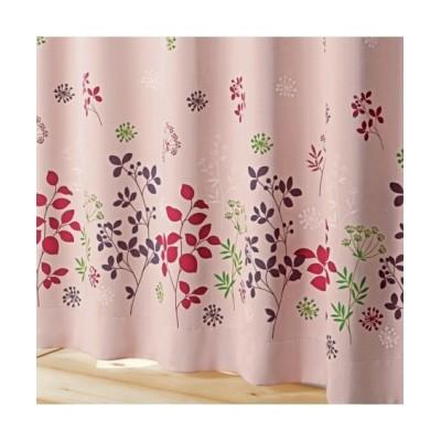 【送料無料!】フラワー柄遮光カーテン ドレープカーテン(遮光あり・なし) Curtains, blackout curtains, thermal curtains, Drape(ニッセン、nissen)