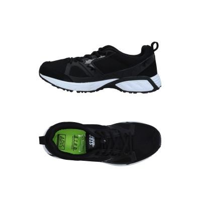 STRD by VOLTA FOOTWEAR スニーカー&テニスシューズ(ローカット) ブラック 4 紡績繊維 / ゴム スニーカー&テニスシューズ