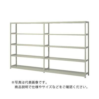 ナイキ 軽中量ラック連結 W905×D305×H1805 (RFM631J-5) (株)ナイキ (メーカー取寄)