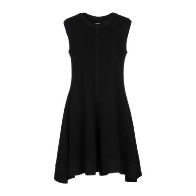 メゾン ラビ カイルー MAISON RABIH KAYROUZ ミニワンピース&ドレス ブラック 38 ウール 100% ミニワンピース&ドレス