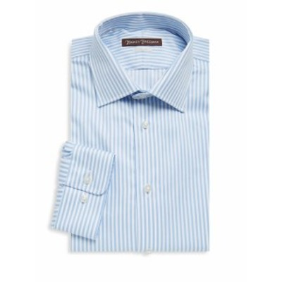 ヒッキーフリーマン Men Clothing Bengal Stripe Cotton Dress Shirt