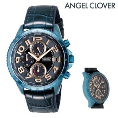 【レビューを書いてポイント+5%】エンジェルクローバー 腕時計 モンドソーラー MOS44NNV-NV メンズ AngelClover ステンレススチール ミ