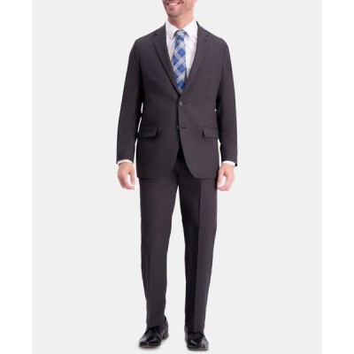 ハガー メンズ ジャケット・ブルゾン アウター Men's Active Series Herringbone Classic-Fit Suit Separate Jacket