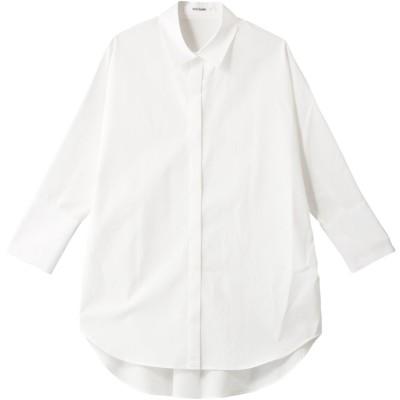 Whim Gazette ウィム ガゼット ドルマンスリーブシャツ レディース ホワイト F